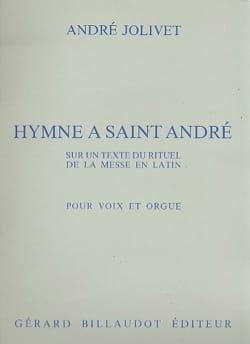 Hymne A Saint André André Jolivet Partition laflutedepan