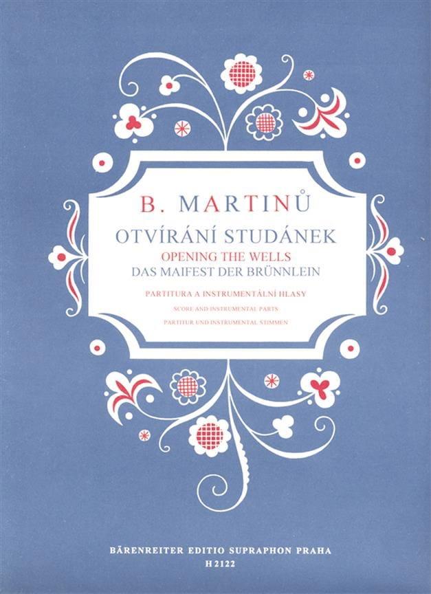 Otvirani Studanek - MARTINU - Partition - Chœur - laflutedepan.com