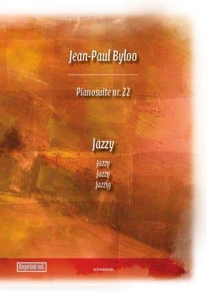 Pianosuite n° 22 - Jean-Paul Byloo - Partition - laflutedepan.com