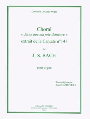 Choral de la Cantate 147. Orgue - BACH - Partition - laflutedepan.com