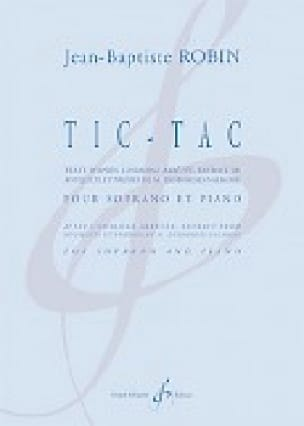 Tic-Tac - Jean-Baptiste Robin - Partition - laflutedepan.com