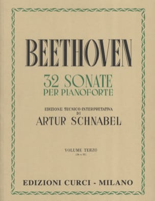 Sonates Volume 3 BEETHOVEN Partition Piano - laflutedepan