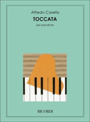 Toccata - Alfredo Casella - Partition - Piano - laflutedepan.com