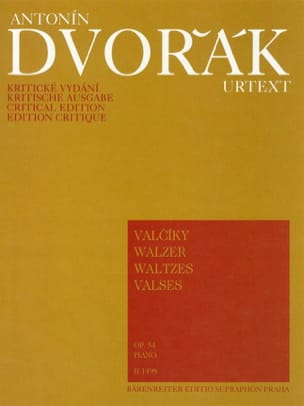 Valses Opus 54 DVORAK Partition Piano - laflutedepan