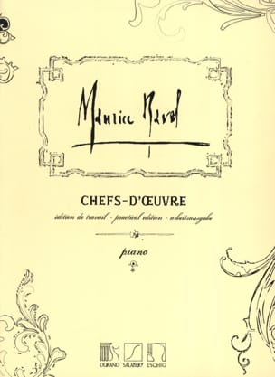Chefs-D'oeuvre RAVEL Partition Piano - laflutedepan