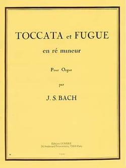 Toccata et Fugue En Ré Mineur Grand Orgue. BACH Partition laflutedepan