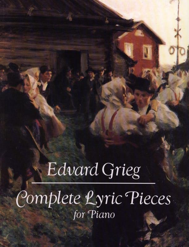 Pièces Lyriques Complet - GRIEG - Partition - Piano - laflutedepan.com
