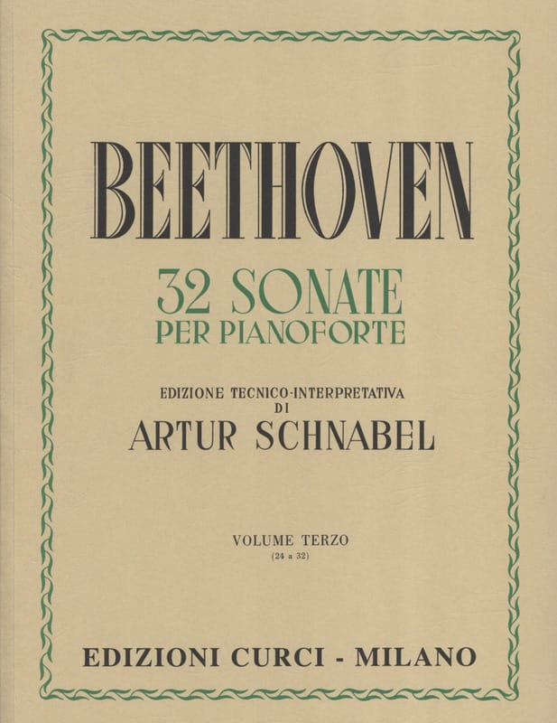 Sonates Volume 3 - BEETHOVEN - Partition - Piano - laflutedepan.com