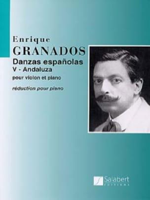 ANDALUZA : Danse espagnole N° 5 - GRANADOS - laflutedepan.com