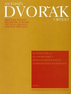 Piano Compositions Volume 1 DVORAK Partition Piano - laflutedepan
