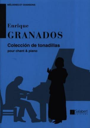 Coleccion de Tonadillas - GRANADOS - Partition - laflutedepan.com