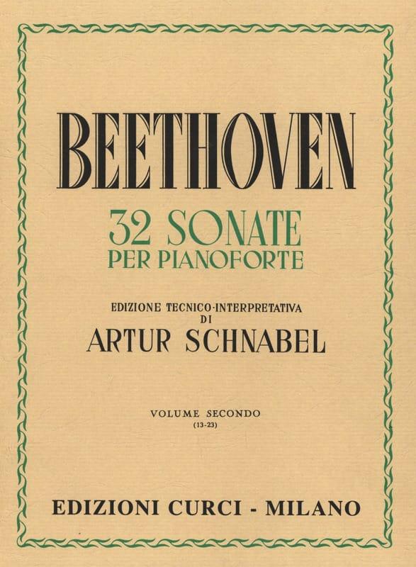 Sonates Volume 2 - BEETHOVEN - Partition - Piano - laflutedepan.com