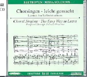 Missa Solemnis op. 123. 2 CD Basse - BEETHOVEN - laflutedepan.com