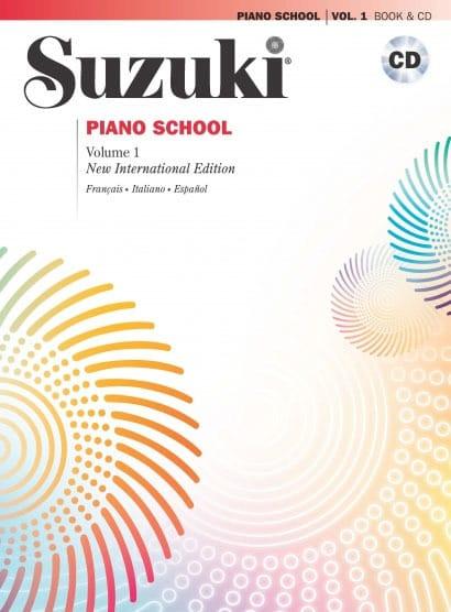 Suzuki Piano School Volume 1 Français avec CD - laflutedepan.com