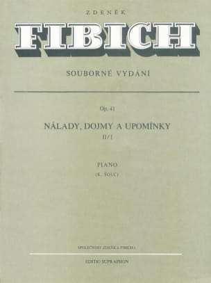 Moods, Impressions... Op. 41 Volume 1-2 Zdenek Fibich laflutedepan