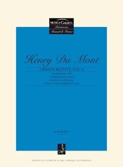 Grands Motets Volume 4 - Henry Dumont - Partition - laflutedepan.com