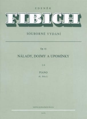 Moods, Impressions... Op. 41 Volume 1-4 Zdenek Fibich laflutedepan