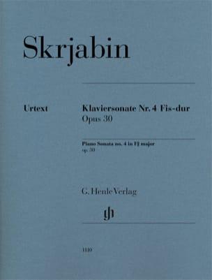 Sonate pour Piano en fa dièse majeur N° 4 Opus 30 laflutedepan