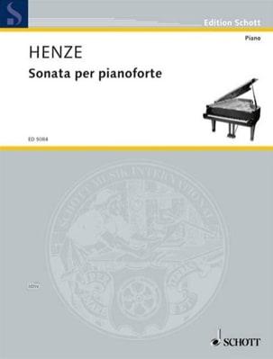 Sonate 1959 Hans W Henze Partition Piano - laflutedepan
