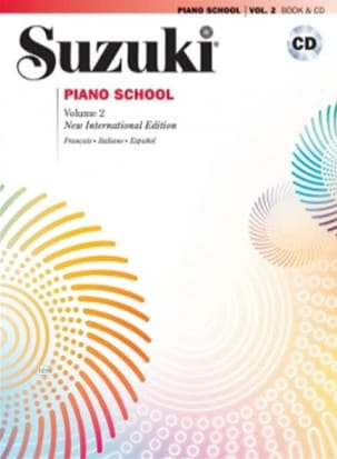Suzuki - Suzuki Piano School Volume 2 French with CD - Partition - di-arezzo.co.uk