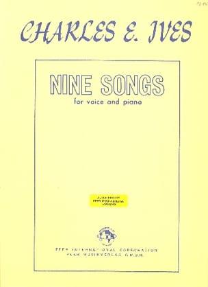 9 Songs IVES Partition Mélodies - laflutedepan