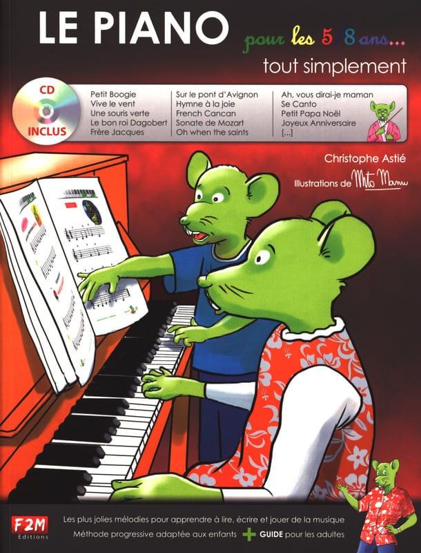 Le Piano pour les 5-8 ans... Tout simplement - laflutedepan.com