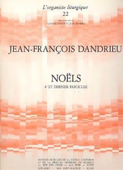 Noëls Livre 4 DANDRIEU Partition Orgue - laflutedepan