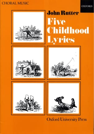 5 Childhood Lyrics RUTTER Partition Chœur - laflutedepan