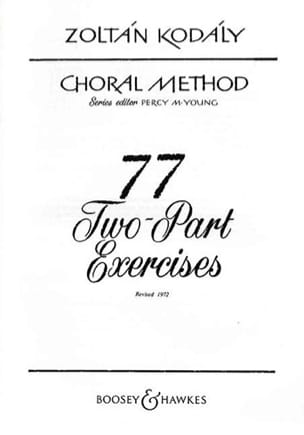 77 2-Part Exercices KODALY Partition Chœur - laflutedepan
