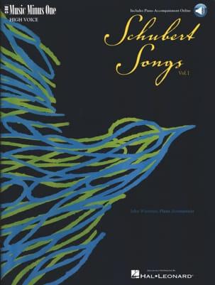 Lieder Voix Haute Volume 1 SCHUBERT Partition Mélodies - laflutedepan