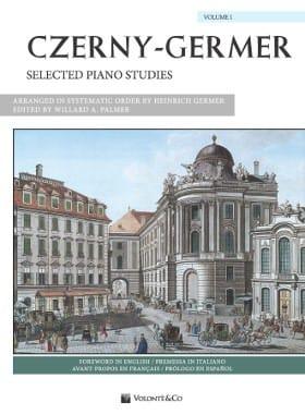 Selected piano studies Volume 1 - Czerny / Germer - laflutedepan.com