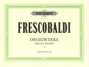 Orgelwerke Bd. I FRESCOBALDI Partition Orgue - laflutedepan