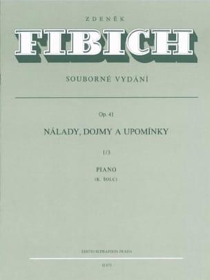 Moods, Impressions... Op. 41 Volume 1-3 Zdenek Fibich laflutedepan