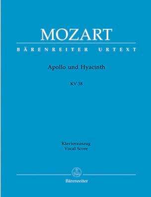 Apollo Und Hyacinth K 38 MOZART Partition Opéras - laflutedepan