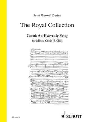 An Heavenly Song Davies Peter (Sir) Maxwell Partition laflutedepan