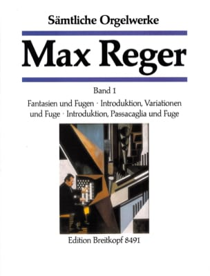 Oeuvre Pour Orgue Volume 1 Max Reger Partition Orgue - laflutedepan