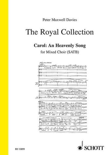 An Heavenly Song - Davies Peter (Sir) Maxwell - laflutedepan.com