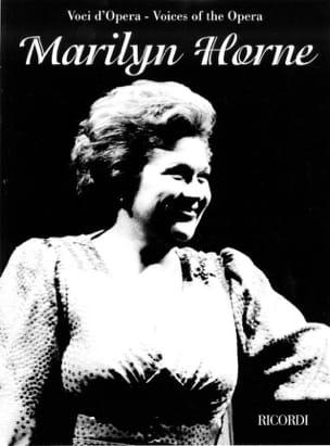 Voci D'opera : Marilyn Horne ROSSINI Partition Opéras - laflutedepan
