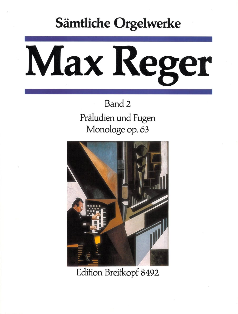 Oeuvre Pour Orgue Volume 2 - Max Reger - Partition - laflutedepan.com