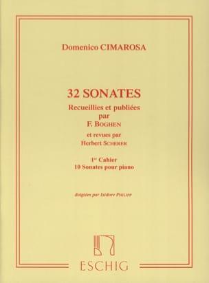 32 Sonates Volume 1 CIMAROSA Partition Piano - laflutedepan