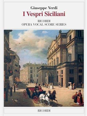 I Vespri Siciliani - VERDI - Partition - Opéras - laflutedepan.com