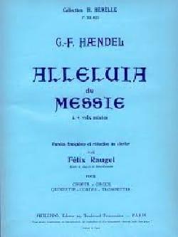 Alleluia Du Messie HAENDEL Partition Chœur - laflutedepan