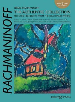 The authentic collection RACHMANINOV Partition Piano - laflutedepan