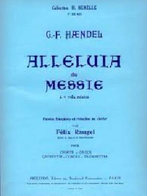 Alleluia Du Messie - HAENDEL - Partition - Chœur - laflutedepan.com