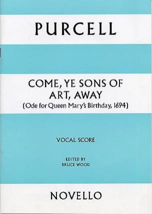 Come Ye Sons Of Art, Away - PURCELL - Partition - laflutedepan.com