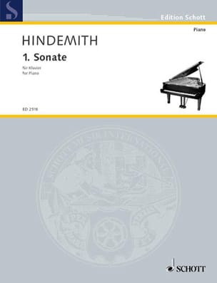 Sonate N°1 HINDEMITH Partition Piano - laflutedepan