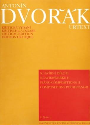 Piano Compositions Volume 2 - DVORAK - Partition - laflutedepan.com