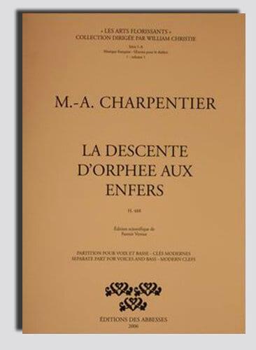 La Descente d'Orphée Aux Enfers - CHARPENTIER - laflutedepan.com