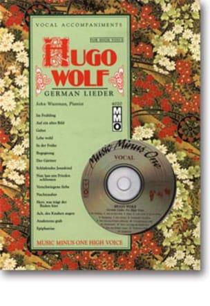 Lieder Voix Haute Hugo Wolf Partition Mélodies - laflutedepan