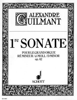 Sonate N° 1 Ré Mineur Opus 42 Alexandre Guilmant laflutedepan